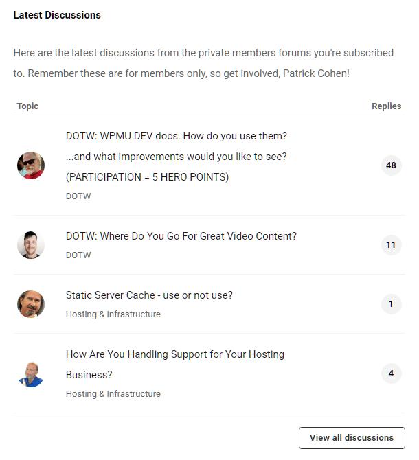 Hub2 Community discussions