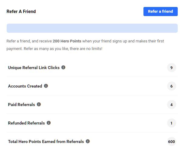Hub2 Community refer a friend