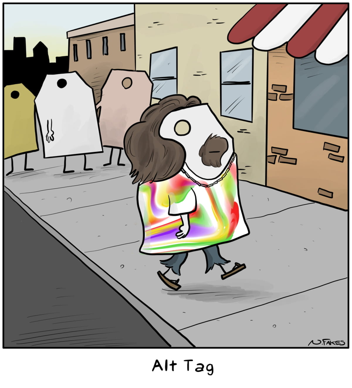 Funny image of an alt tag