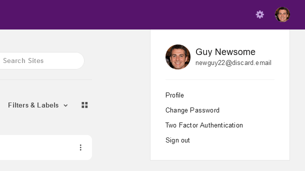 Client profile in the Hub Client plugin