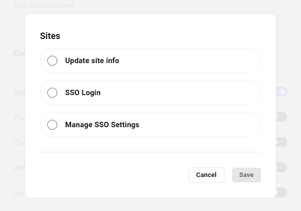 Customize access in new client role in Client Billing
